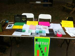 nostrovia poetry nyc festival table 2