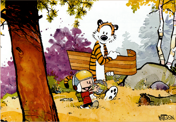 yukon ho calvin and hobbes