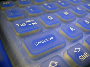 confused keyboard