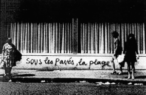 Anonymous graffiti, Paris, 1968.