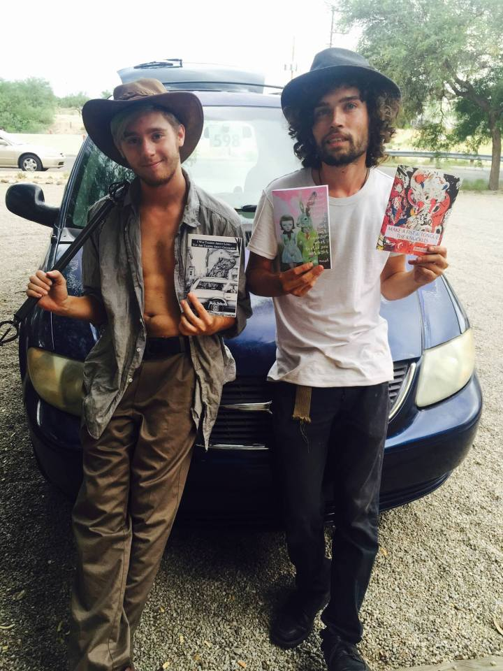 Jeremiah Walton and Dan Hapgood beginning for NYC