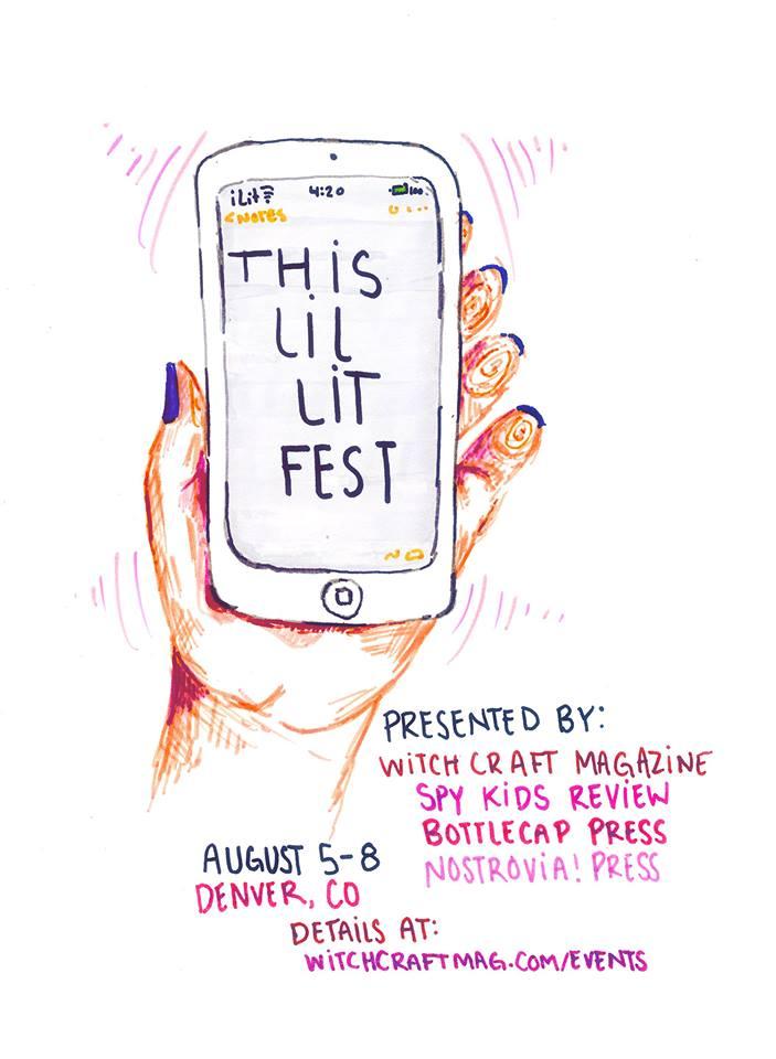 This Lil Lit Fest banner